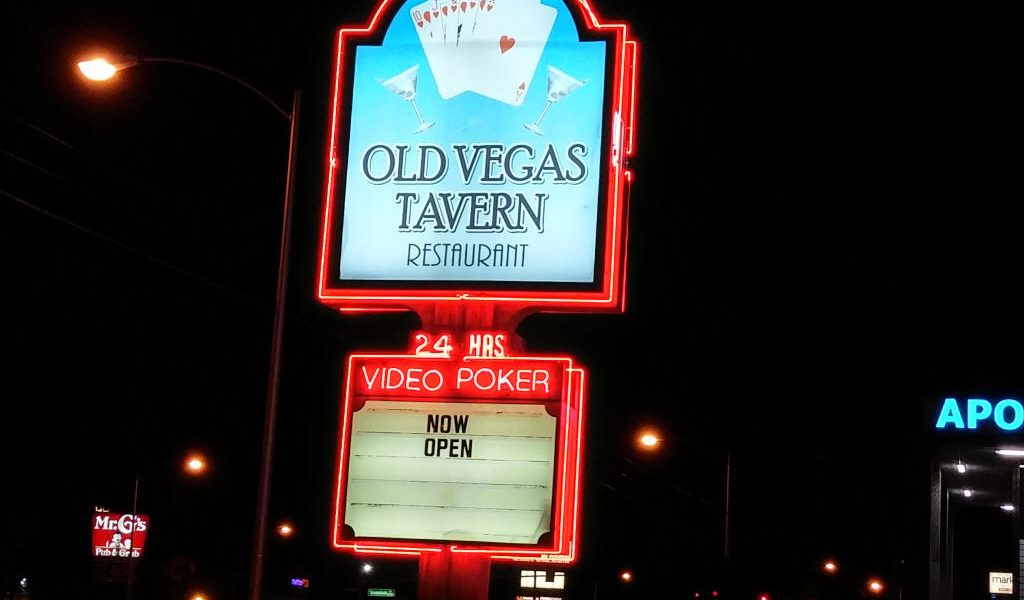 Old Las Vegas Tavern Sign