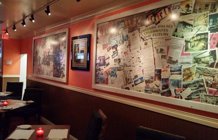 Nostalgic Las Vegas Secluded Dining